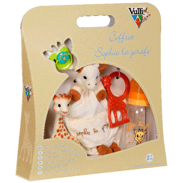 Sophie the giraffe complete birth set