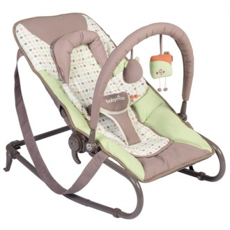 Hamac pour bebe bubble simple taupe