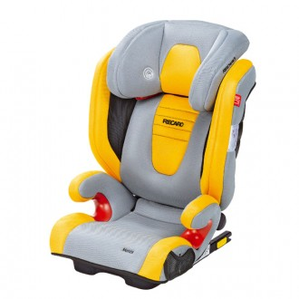 Car seat monza seatfix airmesh crystal yellow