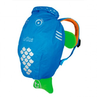 Backpack fish blue