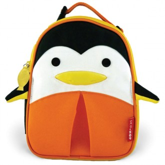 Mochila zoo lunchies estilo pinguim