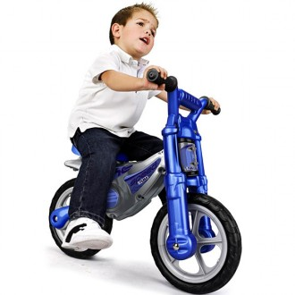Speed bike motorbike walker blue