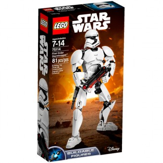 Star Wars First Order Stormtrooper 75114