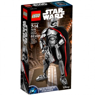 Star wars Captain Phasma 75118