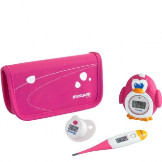 Set termometri digitali thermokit rosa