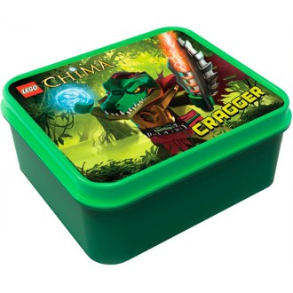 Lunchbox lego legends of chima verde