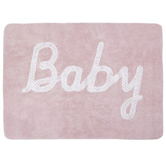 Tapete Baby petit point rosa