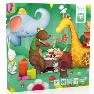 Puzzle Texturas Party Animal