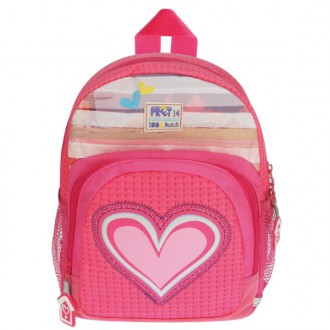Mochila Pret denimized rosa 29 x 23