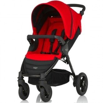 Silla de paseo b-motion 4 flame red