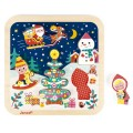 Puzzle chunky a magia do natal