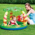 bestway-piscina jungla palmera inflable  protecci-in uv