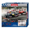 carrera-world f1 circuit champs with 3 cars