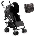 BEBEDUE Sillita de paseo Zero Triangles Black