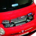 Fiat 500 red grey con telecomando