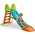 feber-super mega slide foldable xxl with water