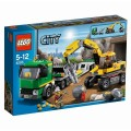 lego-city camion de machine lourde