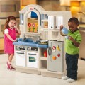 little-tikes-interior exterior kitchen barbecue