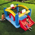 little-tikes-multi-sport inflatable with slide