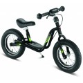 PUKY Bicicleta Learner Bike XL color negro con frenos