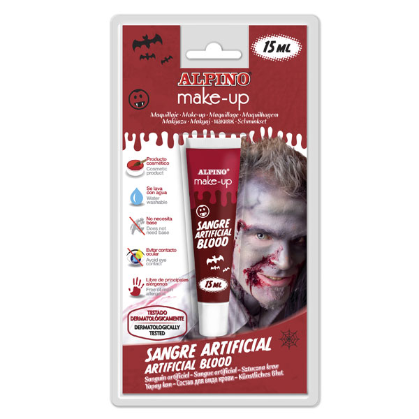 Tubo sangre artificial 15ml