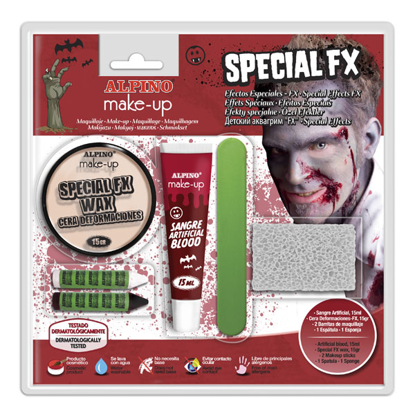 Kit efectos especiales halloween