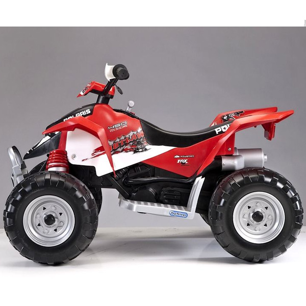 Quad Polaris outlaw red | PEG PEREGO | Giocattolo EurekaKids