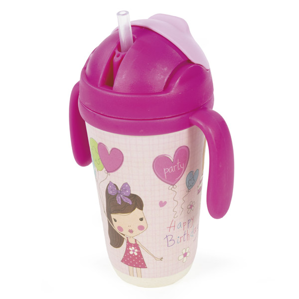 Botella infantil happy birthday
