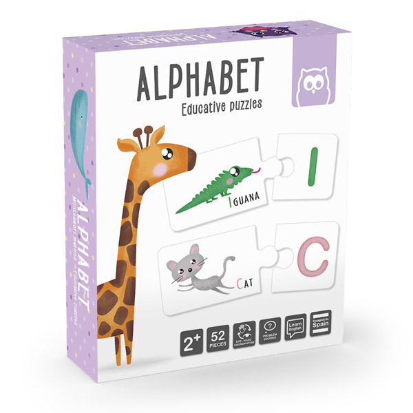 Alphabet puzzle educativo
