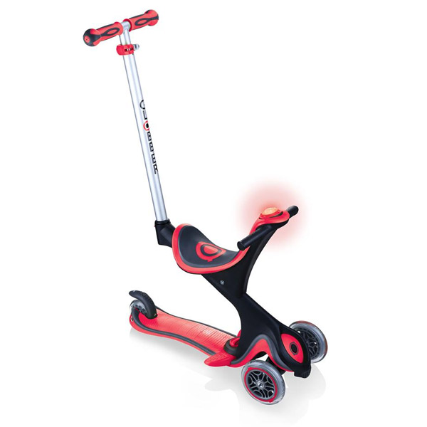 Monopattino comfort play 5 in 1 rosso