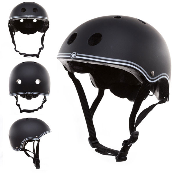 Casco junior negro