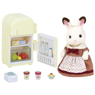 Set Mamá Conejo chocolate Sylvanian