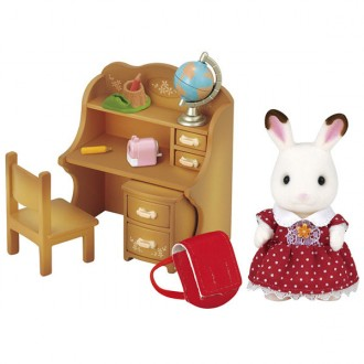 Set hermana conejo chocolate Sylvanian