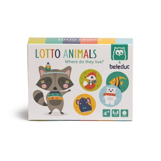 Gioco da tavolo Lotto Animal mini