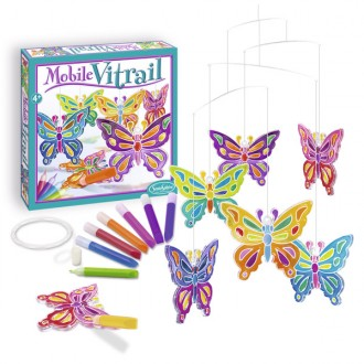 Kit creativo per cristalli papillon