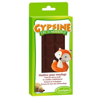 Carga gypsine chocolate negro 110gr