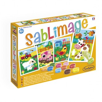 Sablimage Animales de granja