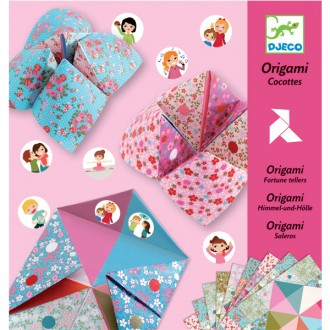 Origami saleros - cocottes a gages