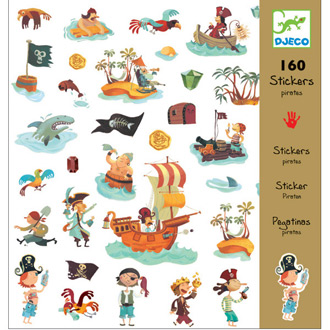 Stickers de piratas