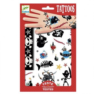 Calcomanías piratas Tatuajes