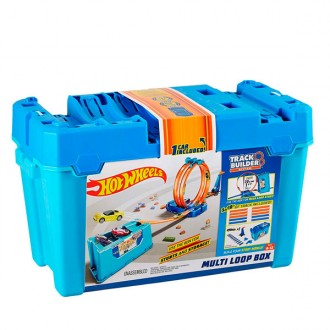 Caja multiloopings Hot Wheels