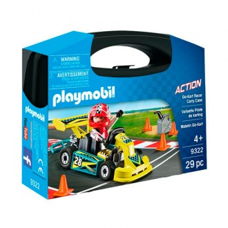 ACTION Maletín Go-Kart Racer Carry Case