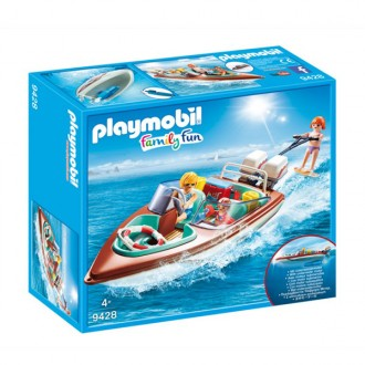 Family Fun Motoscafo con sci d\'acqua