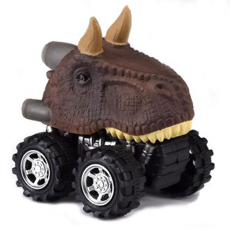 Pack coches dinosaurio