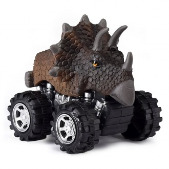 Pack coches dinosaurio l