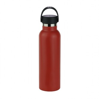 Botella termo 600ml Sport rojo