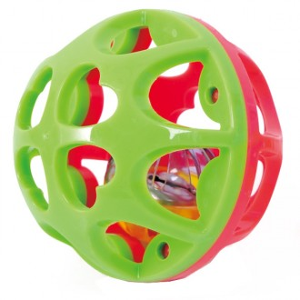 Pelota sonajero bounce and roll ball