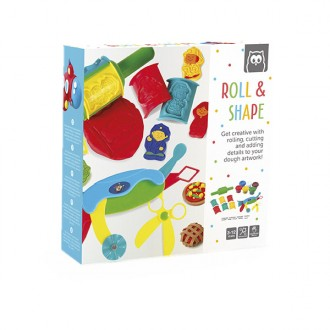 Set de plastilina Roll and shape