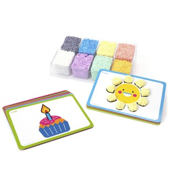 Playfoam shape and learn couting