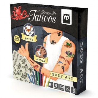 Kit tatuajes Body Art